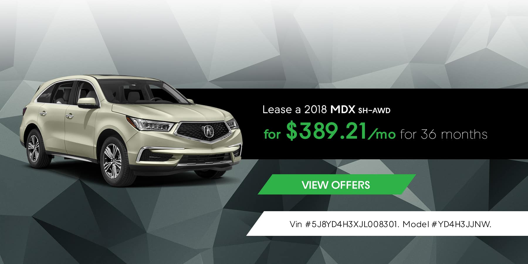 Jeffrey Acura MDX March Offer