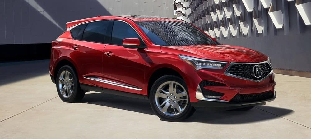 2019 Acura RDX Red Exterior