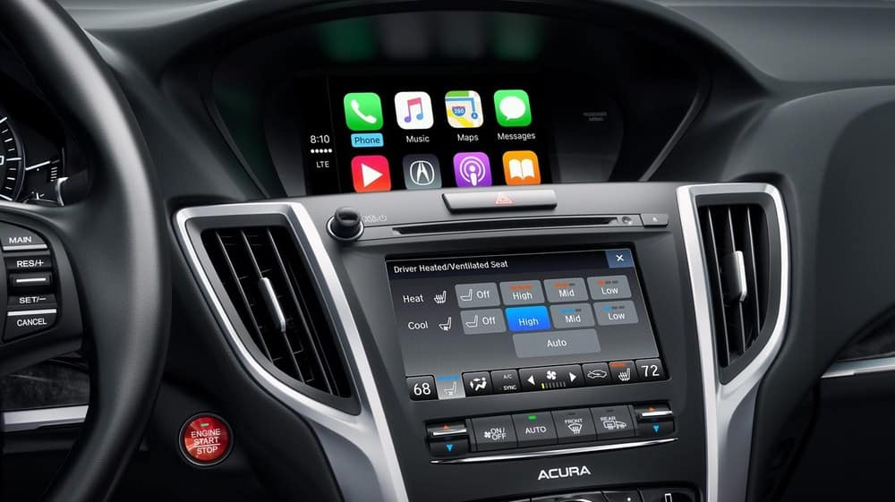 2019 Acura TLX Screens