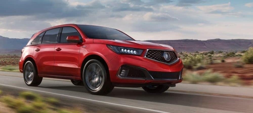 2019 Acura MDX Red Desert
