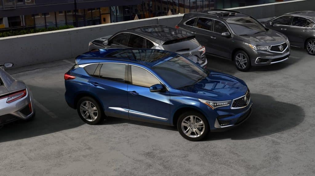 2019 Acura RDX Parking Lot