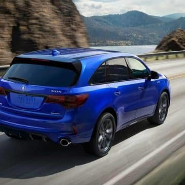 2019 Acura MDX A-Spec in Blue Pearl