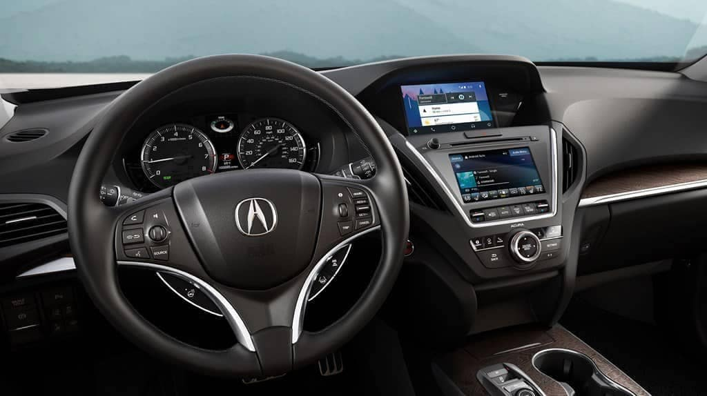 dashboard of 2019 Acura MDX
