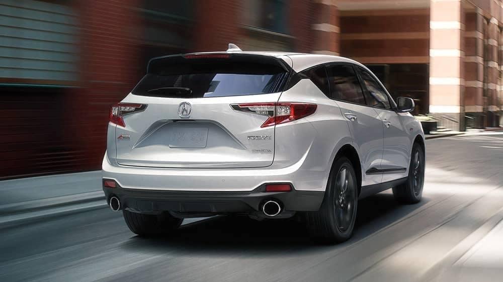 rear of 2019 Acura RDX