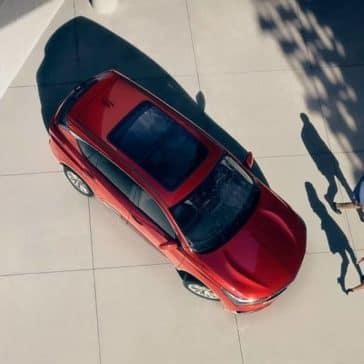 birds-eye view of 2019 Acura RDX