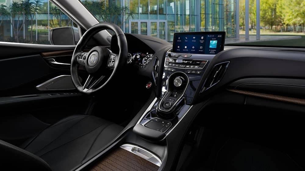 dashboard of 2019 Acura RDX