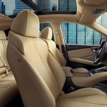 interior cabin of 2019 Acura RDX