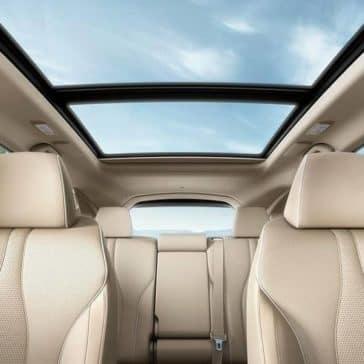 2019 Acura RDX's panoramic roof