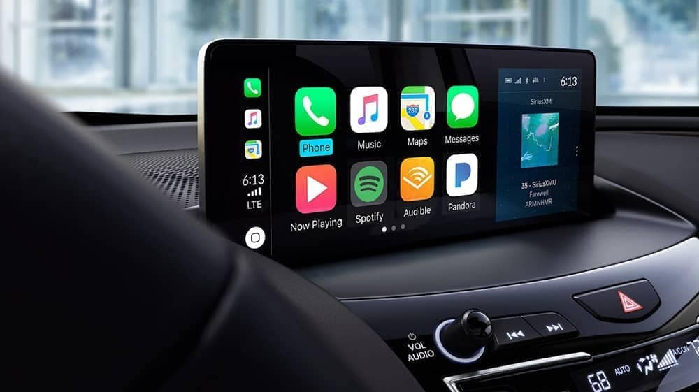 infotainment display in 2019 Acura RDX