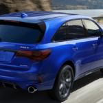 2019 Acura MDX in Bright Blue