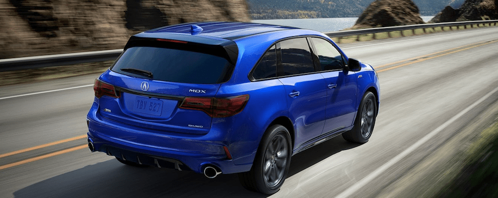 2019 Acura MDX in Bright Blue