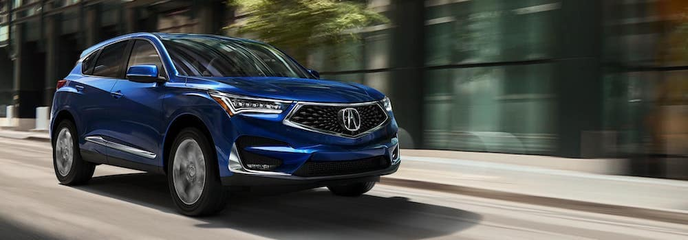 2019 RDX with Advance Package on the road