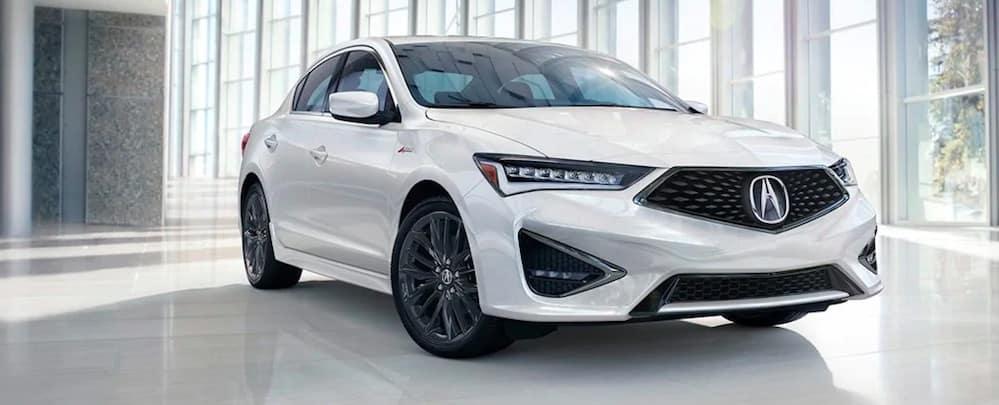 White 2019 Acura ILX