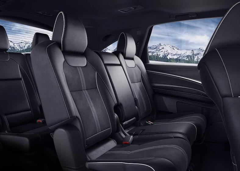 2019 MDX rear seats