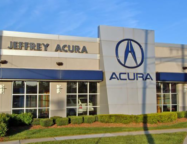 Jeffrey Acura Showroom