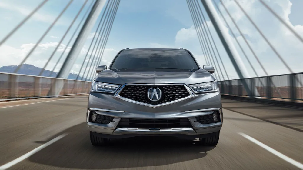 2019 MDX with Advance Package in Lunar Silver Metallic