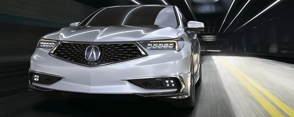 2020 Acura TLX from the front