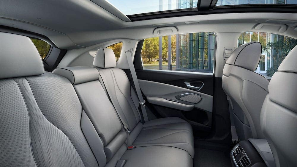 2020 RDX rear seats