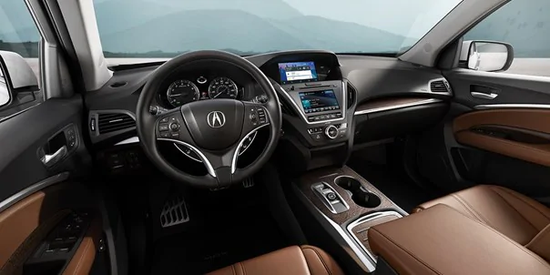 2020 Acura MDX front seats