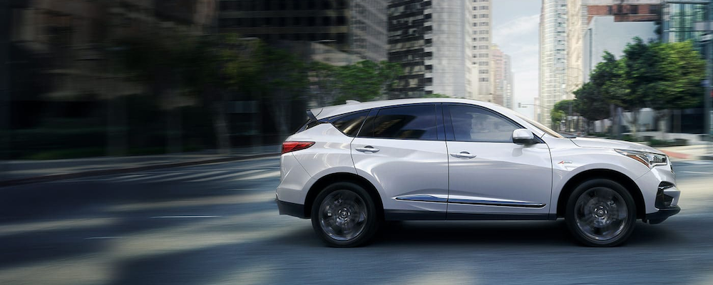 2020 Acura RDX in profile