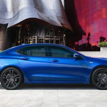 2020 Acura TLX Side View