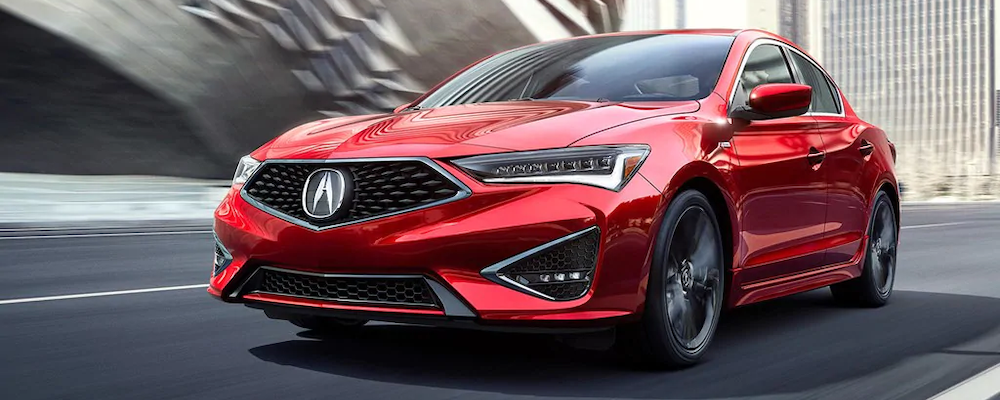 2019 Acura ILX from the front