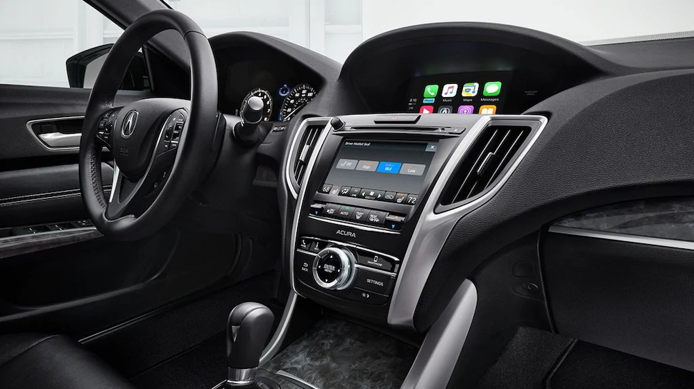 2018 Acura TLX interior view
