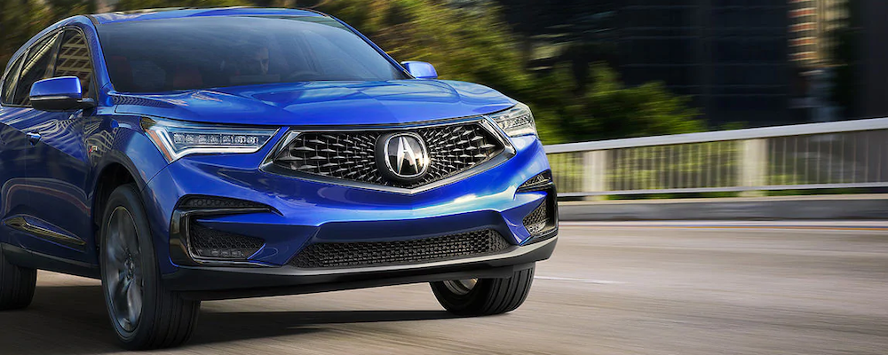 2020 RDX in Apex Blue Pearl