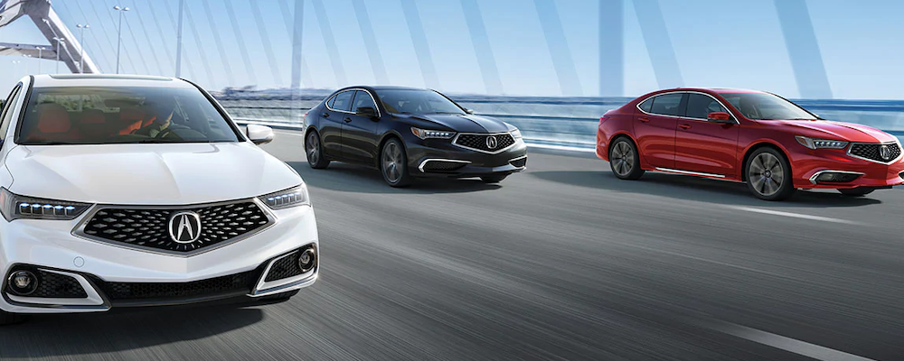 2020 Acura TLX models