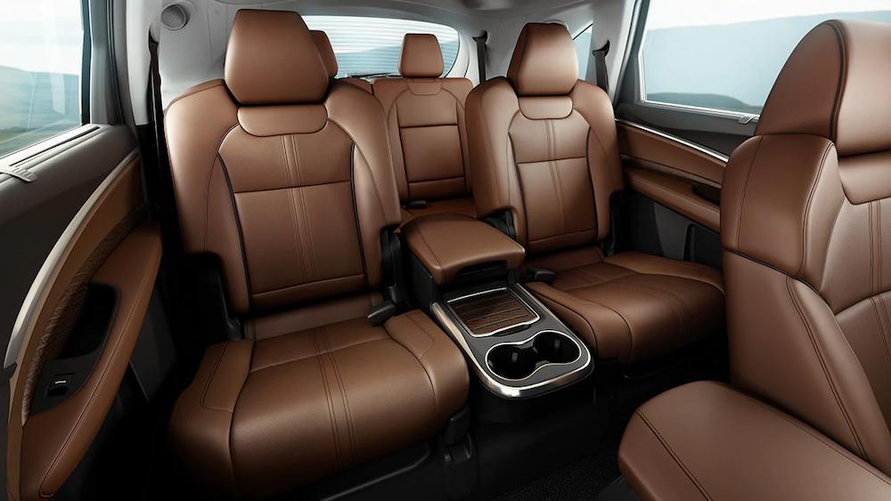 2020 MDX rear seats