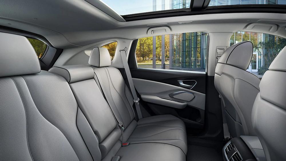2020 RDX rear seats