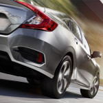 2017 Honda Civic on Road