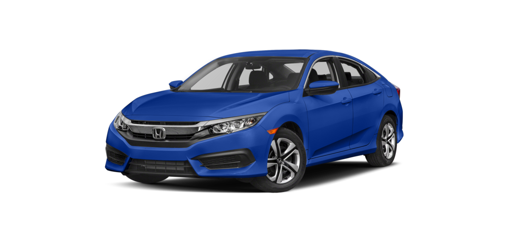 blue 2017 Honda Civic