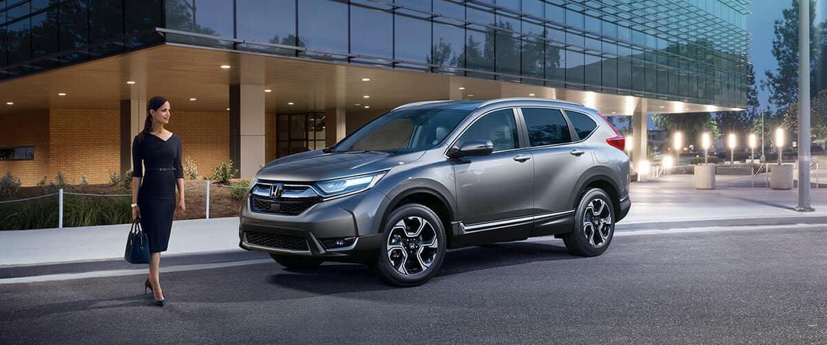 2017 Honda CR-V exterior
