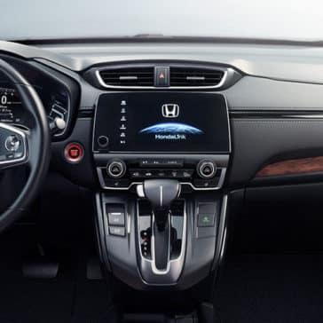 2017 Honda CR-V front interior