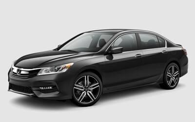 2017 Honda Accord Sport Black Exterior Model
