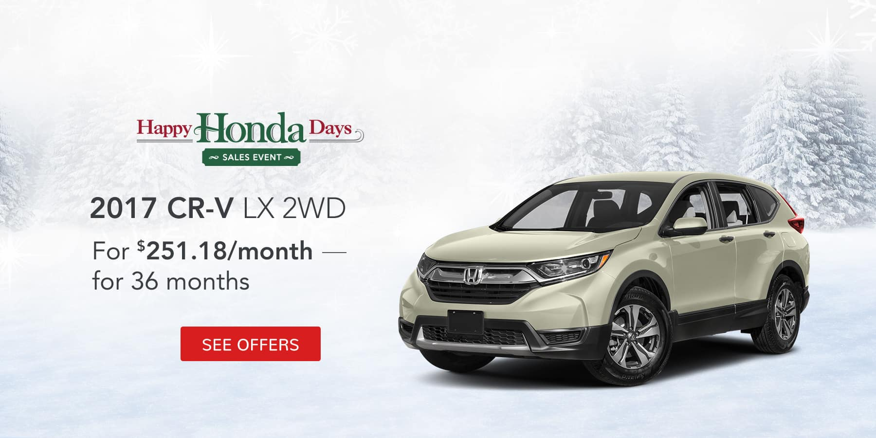 CRV December Offer Jeffrey Honda