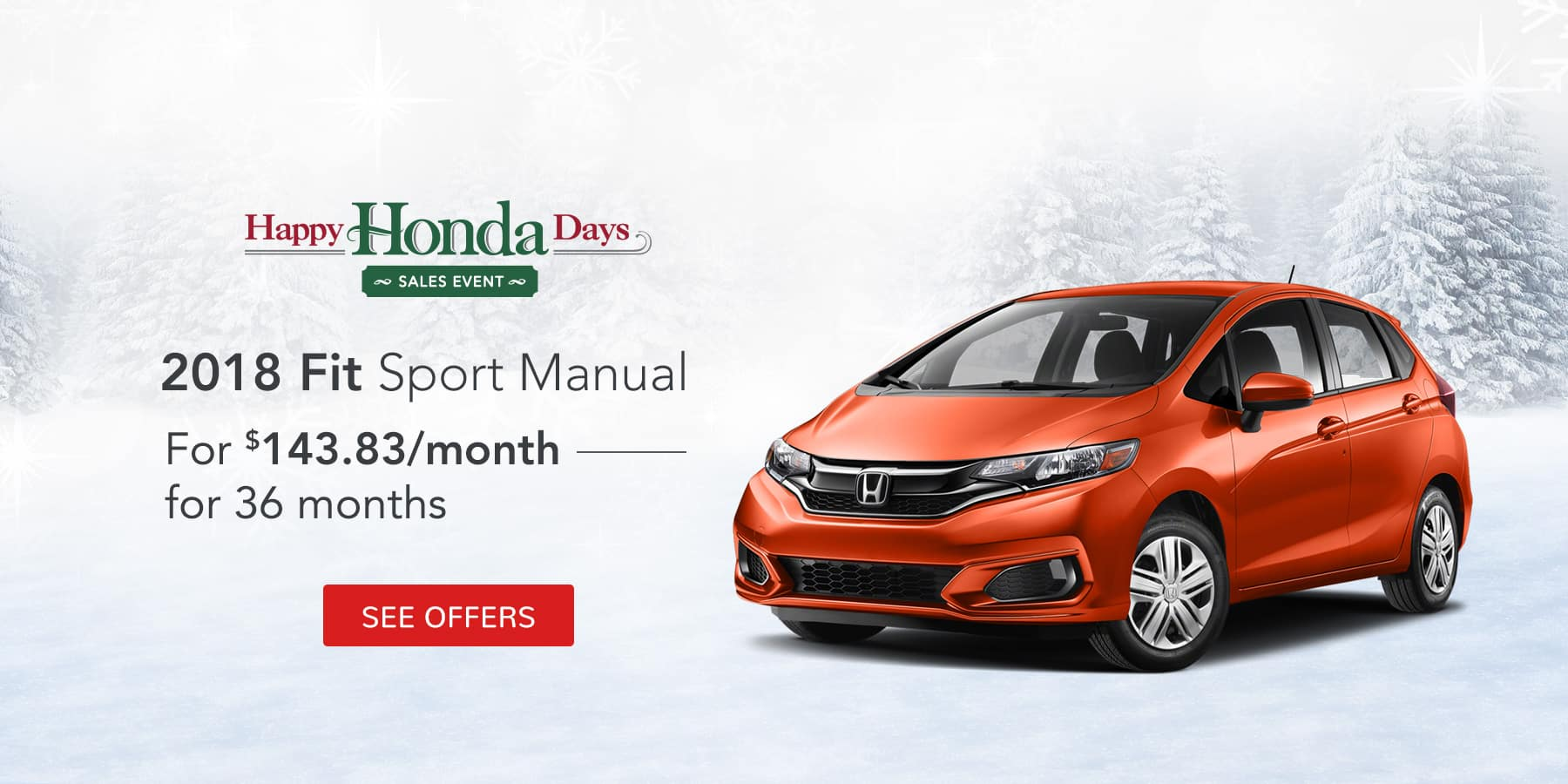 Fit Sport December Offer Jeffrey Honda