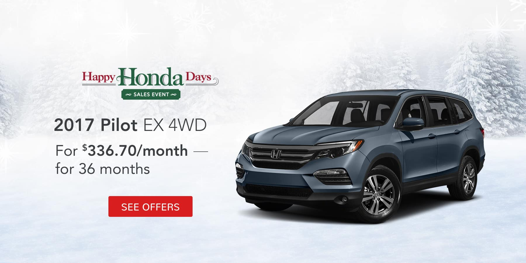 Pilot December Offer Jeffrey Honda