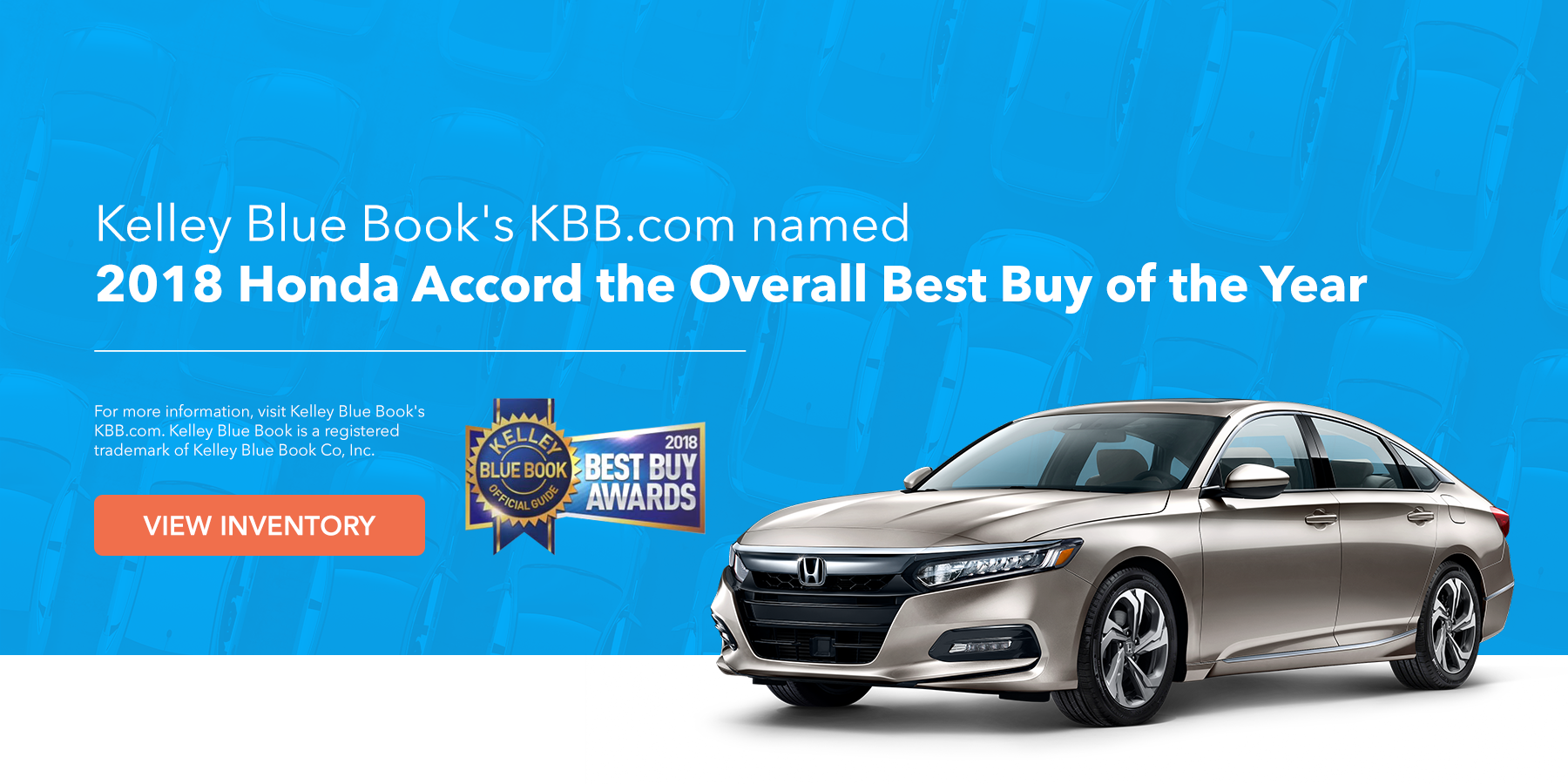 Jeffrey Honda 2018 Accord KBB Award