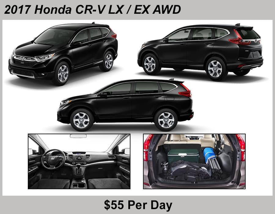 Jeffrey Honda 2017 CRV Rental