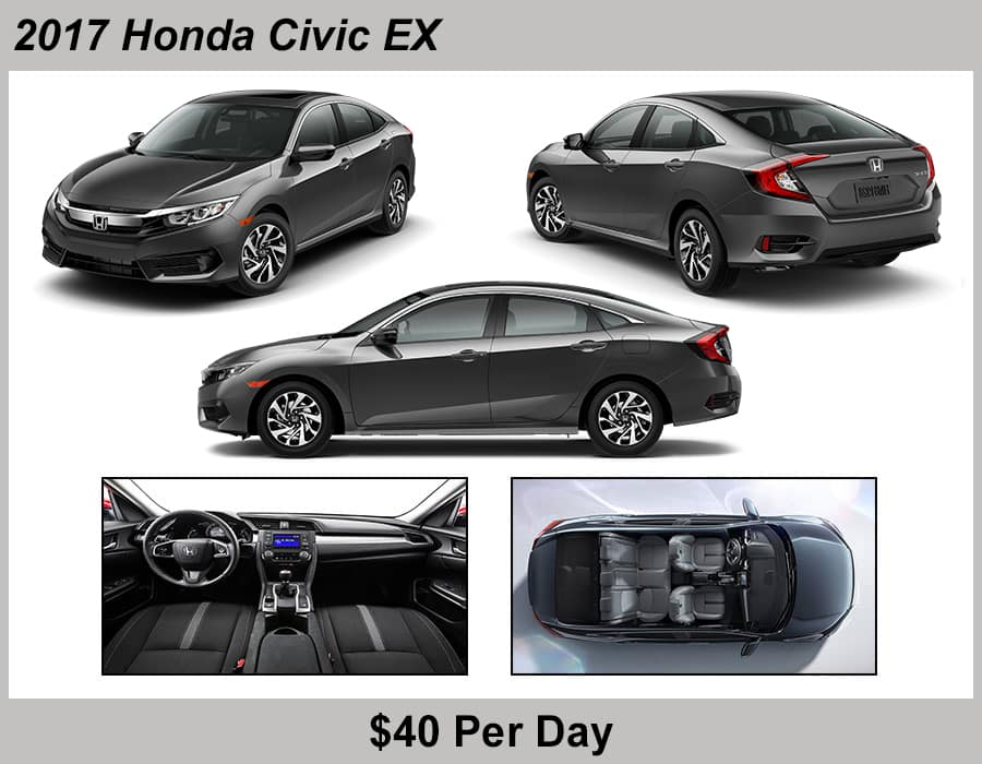 Jeffrey Honda 2017 Civic Rental