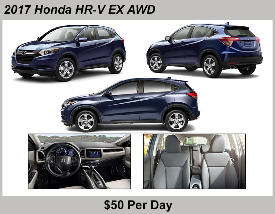 Jeffrey Honda 2017 HRV Rental