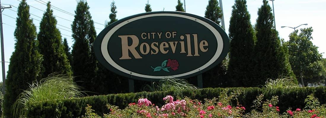 Roseville Sign
