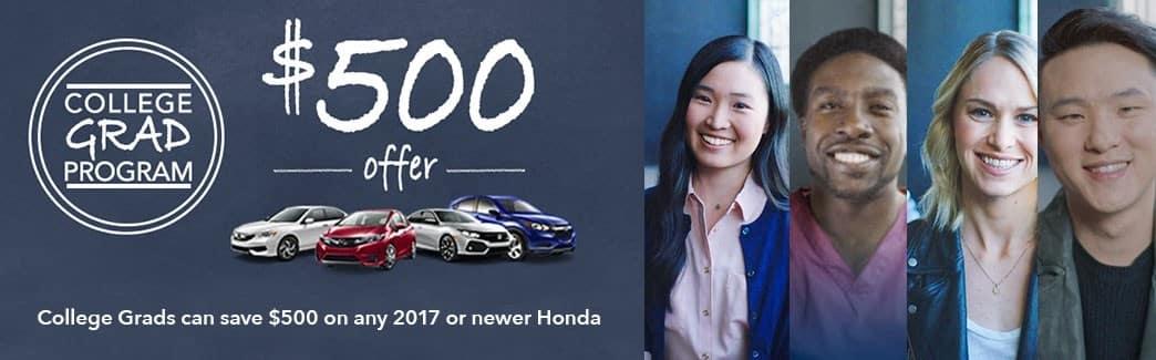 Honda College Grad Program