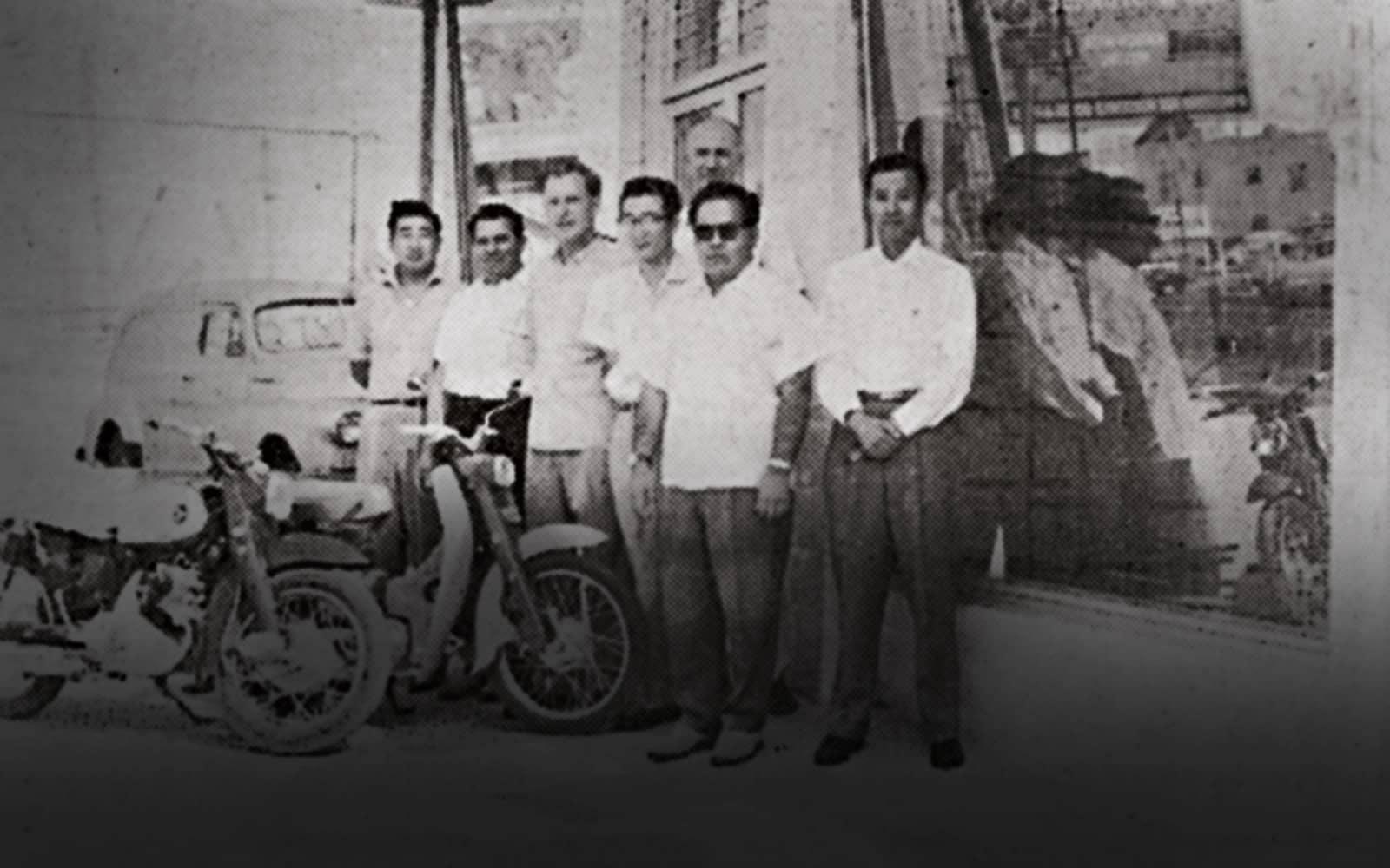 Honda History 1959