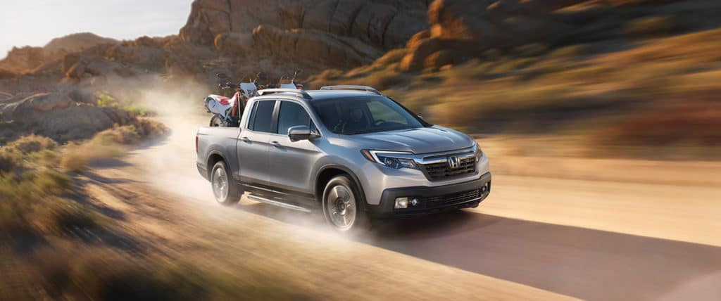 2019 Honda Ridgeline Dirt Road