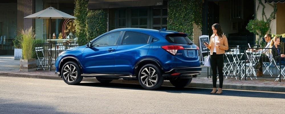 2019 Honda HR-V Blue Parked