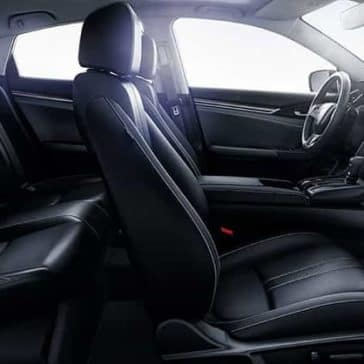 seating in 2019 Honda Civic