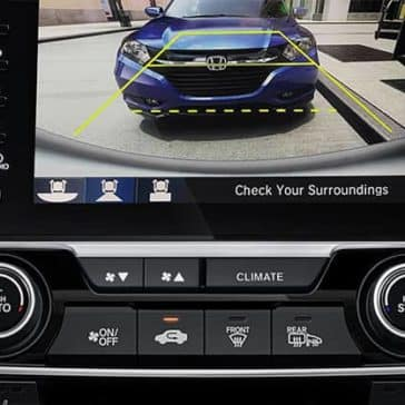 rear camera of 2019 Honda Civic